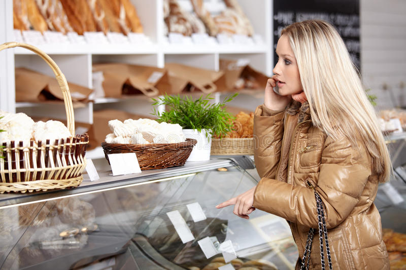 In A Bakery Stock Photo