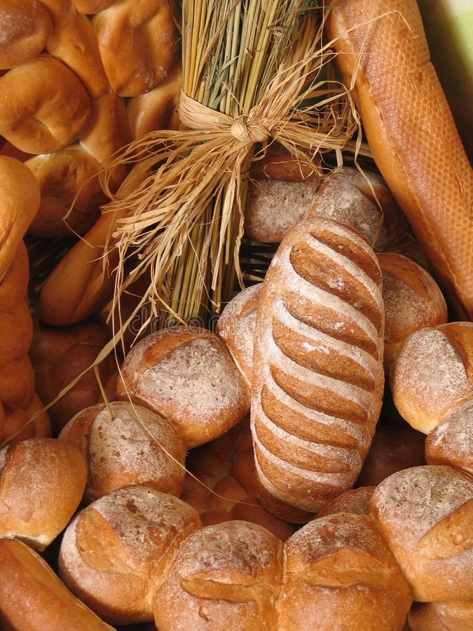 Bakery #6. Display of bread