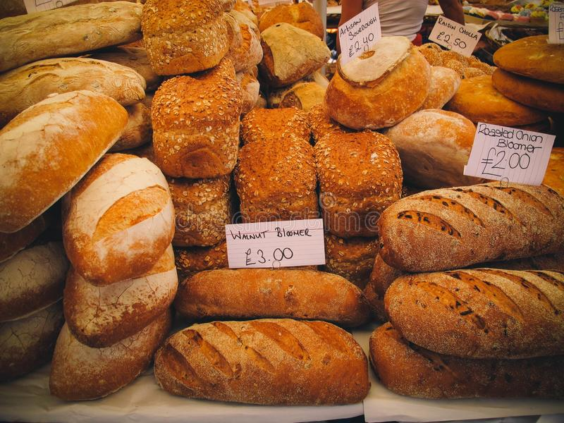 Bakery, Bread, Baked Goods, Food stock images