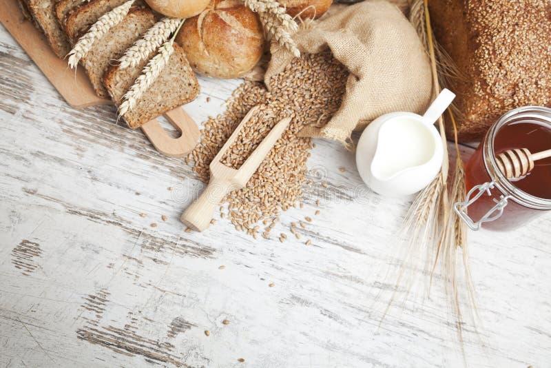 Bakery bread stock photography