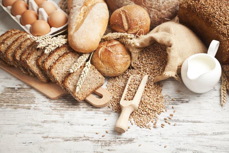 Bakery bread royalty free stock photo