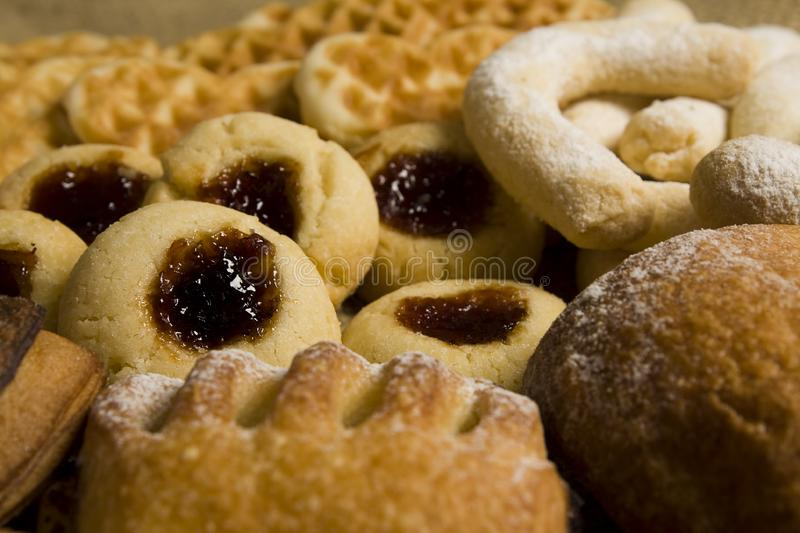 Bakery and cookies royalty free stock photos