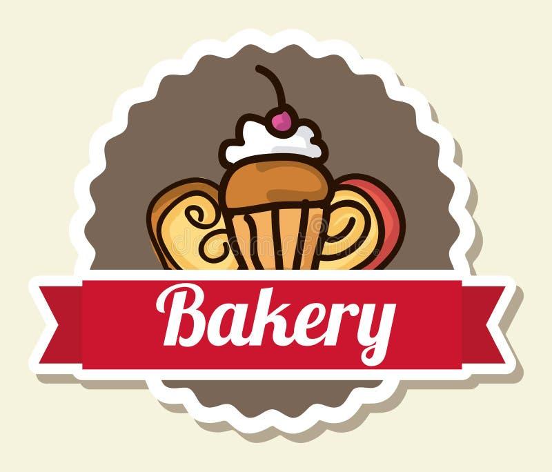 Bakery design stock illustration