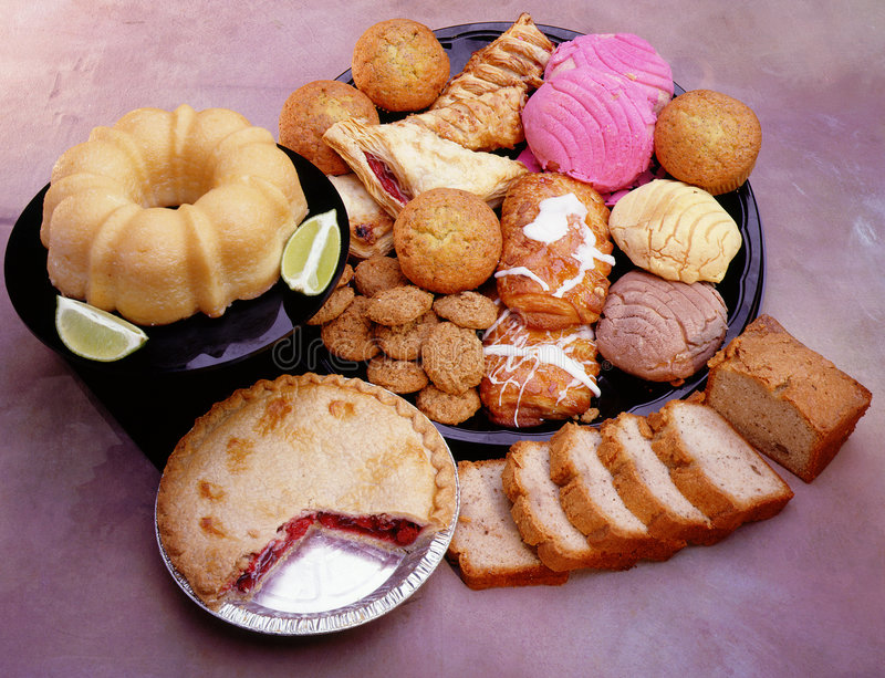 Bakery goods stock photos