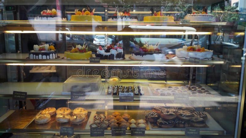 Bakery in hanoi royalty free stock photography