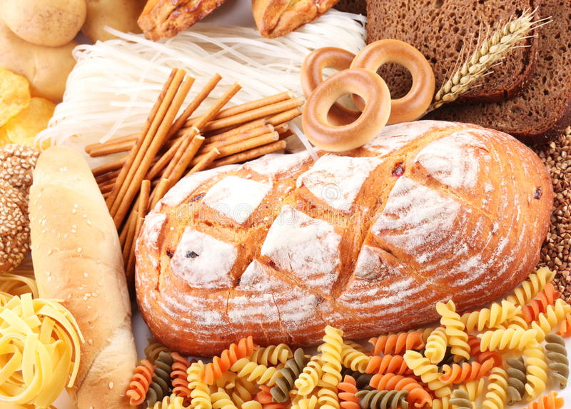 With bakery products royalty free stock photography