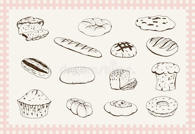 Download Bakery products stock vector. Illustration of collection - 33243793