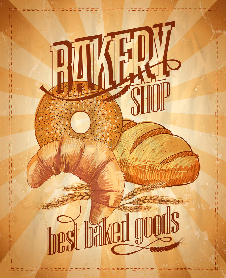 Free Bakery Shop Design. Royalty Free Stock Images - 40977529