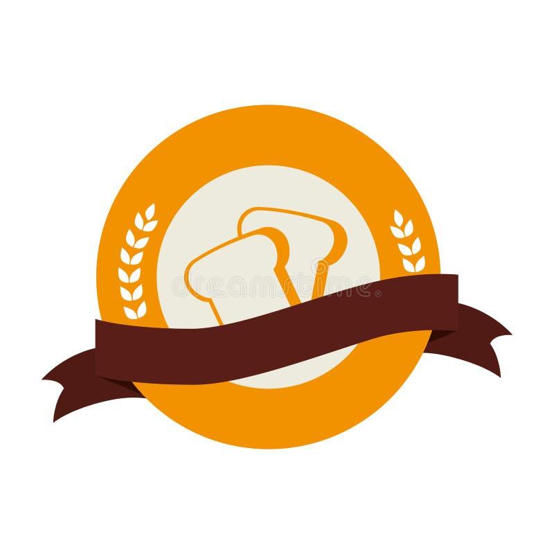 Bakery Shop Emblem Icon Stock Vector. Illustration Of