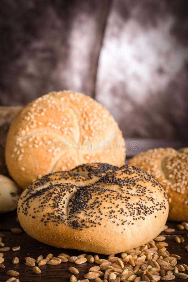 Download Bakes breads and cereals stock image. Image of olive - 25851661