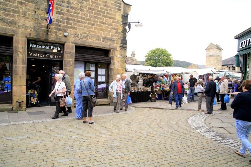 Bakewell, Derbyshire royalty-vrije stock afbeeldingen