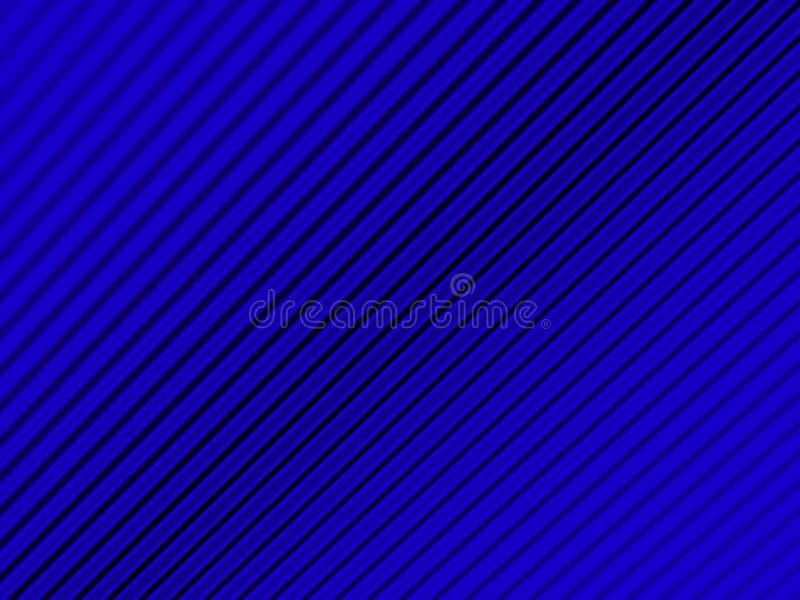Bakground azul de la ondulación que se descolora hacia fuera libre illustration