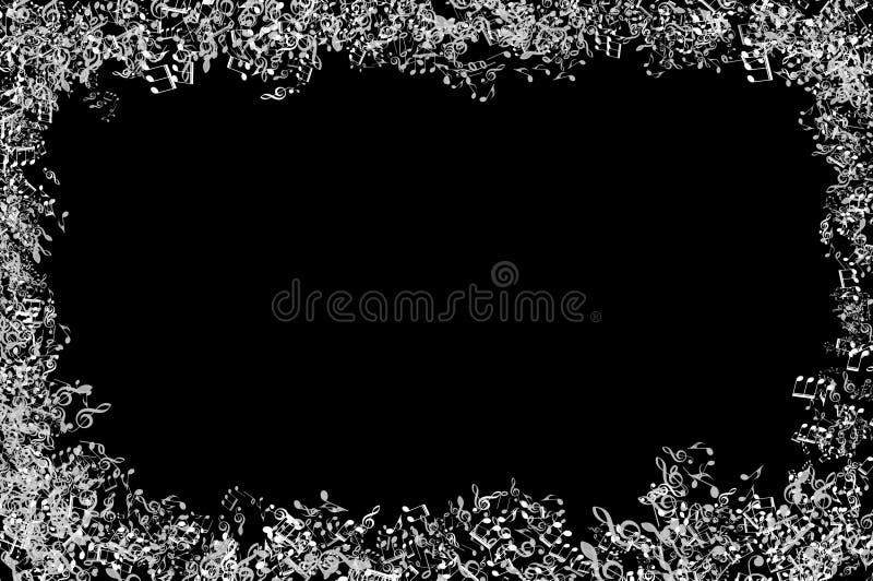 bakgrund är kan olika använda illustrationmusikavsikter stock illustrationer