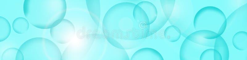 Bakgrund Abstraktion med kulöra cirklar royaltyfri illustrationer