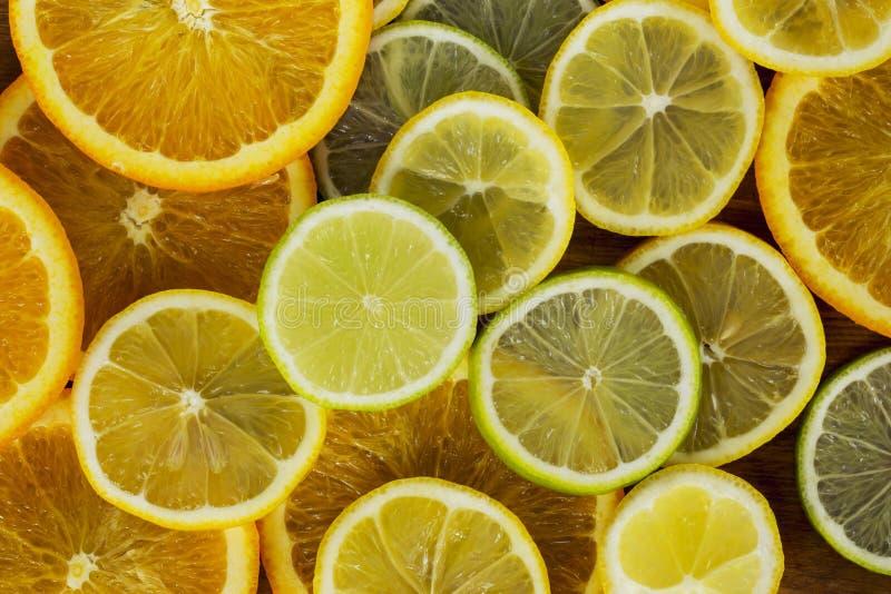 Bakgrund av citruns royaltyfria foton