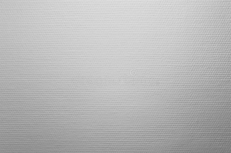 Bakgrund av den vita väggen med vävtextur royaltyfri bild