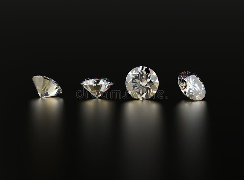 Bakgrund av diamanten royaltyfria foton
