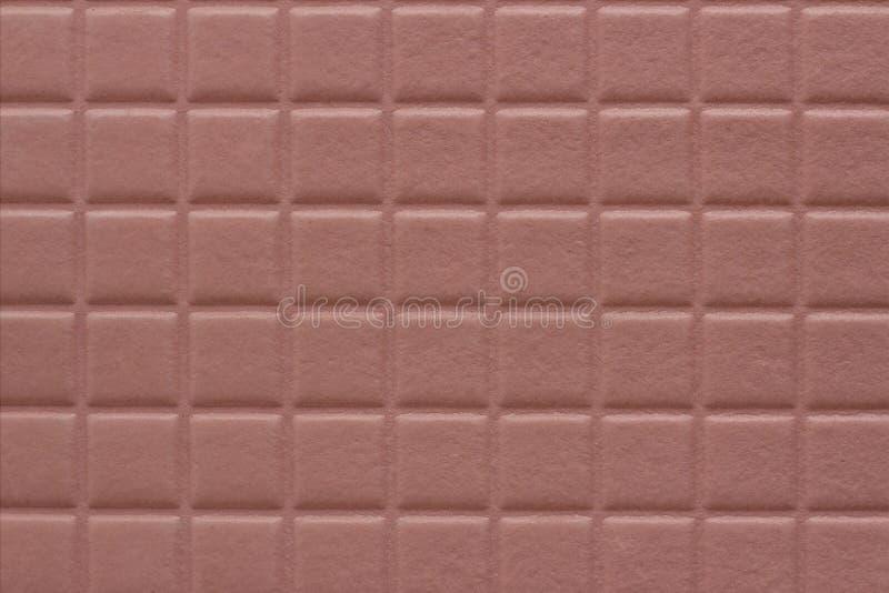 Bakgrund av fyrkanter med en mjuk textur av dammig rosa färg arkivbild