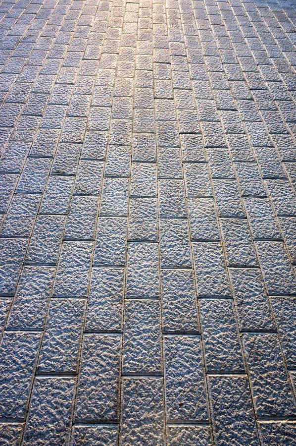 Bakgrund av golvet med förberedande stenar royaltyfria bilder
