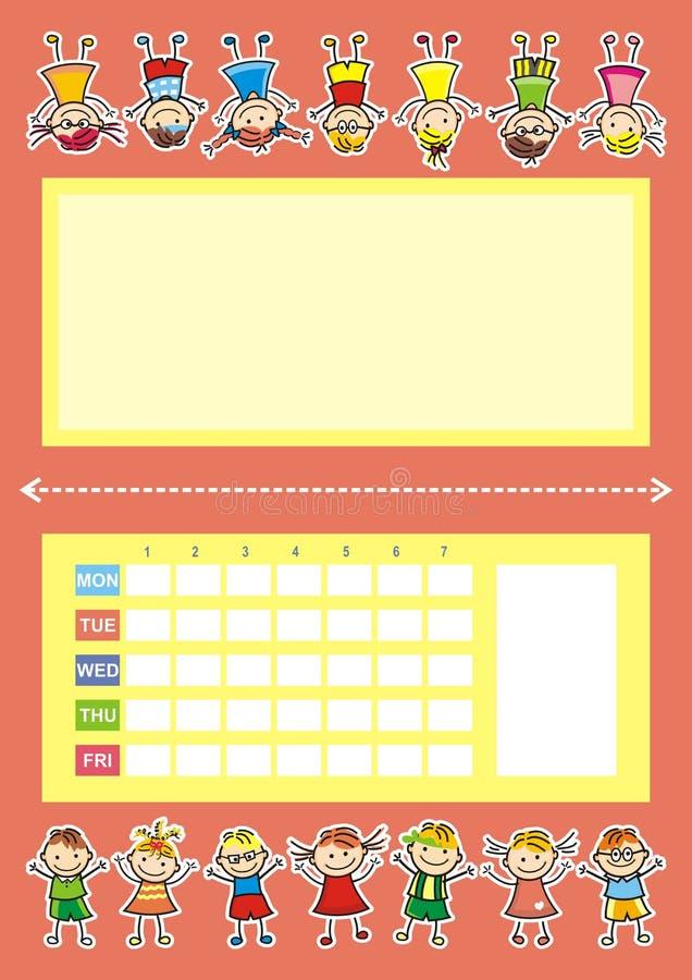 Bakgrund av klistermärkearna stock illustrationer