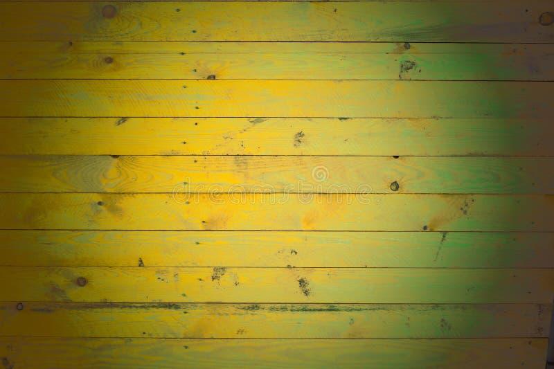 Bakgrund av målade träbräden royaltyfri bild