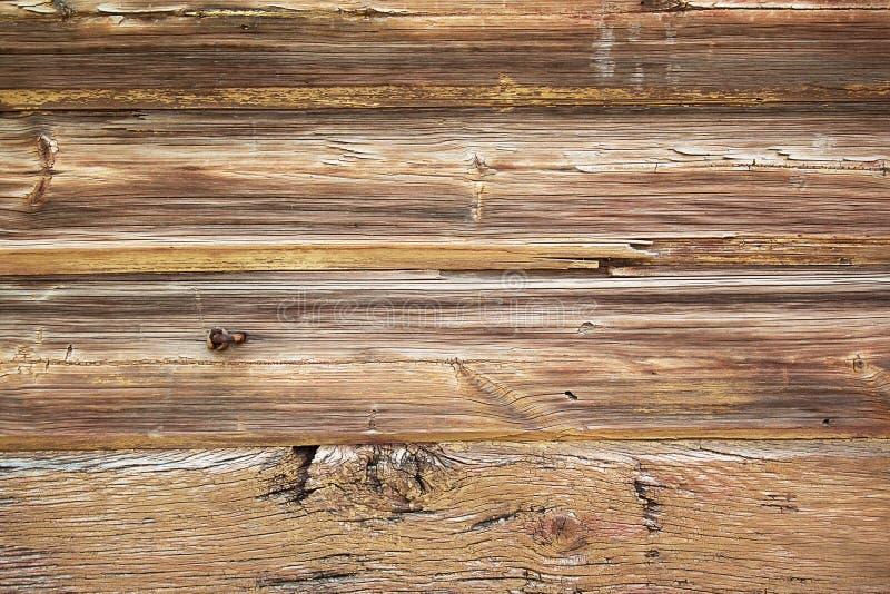 Bakgrund av mörka grova behandlade bräden royaltyfri fotografi
