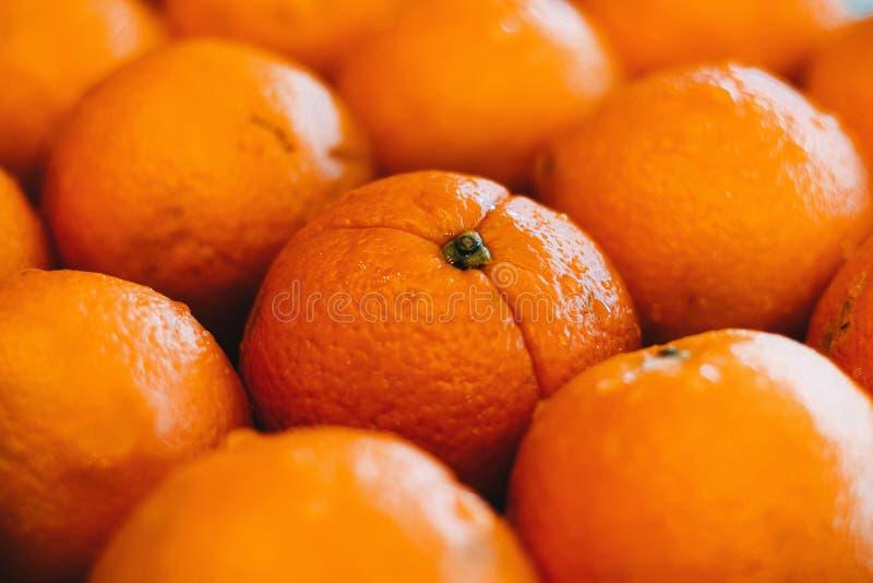 Bakgrund av orangen arkivfoto