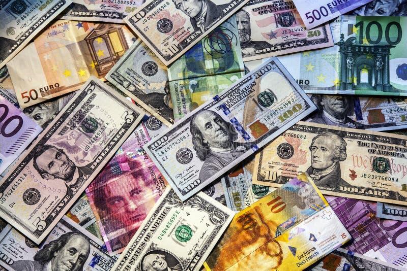 Bakgrund av pengar för affär. royaltyfri foto