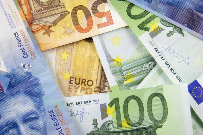 Bakgrund av pengarna för texten arkivbilder