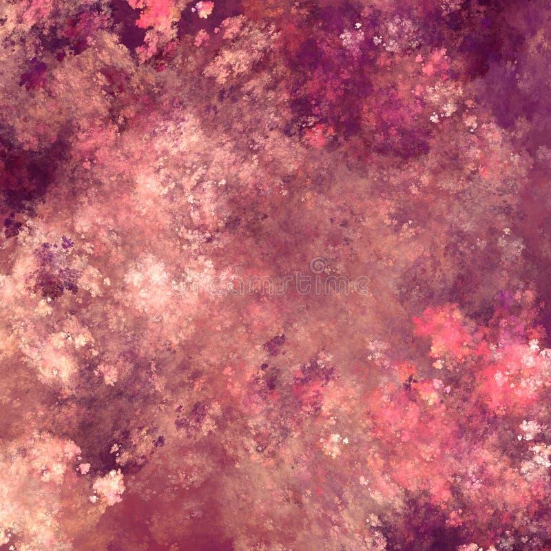 Bakgrund av slumpmässiga fractallinjer royaltyfri illustrationer