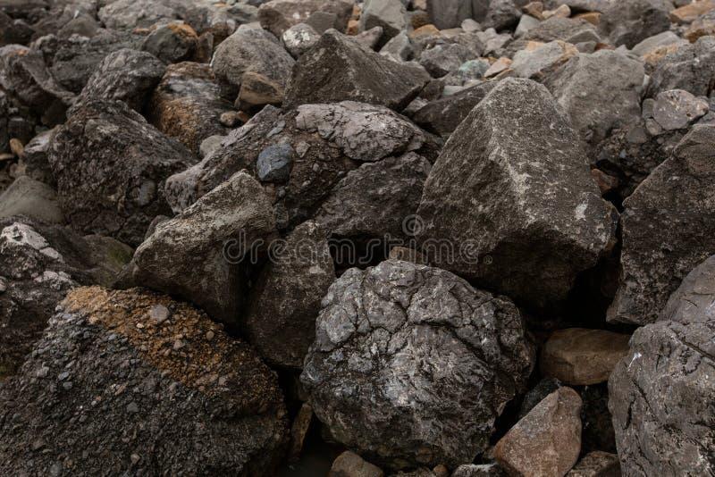 Bakgrund av stenar royaltyfria foton