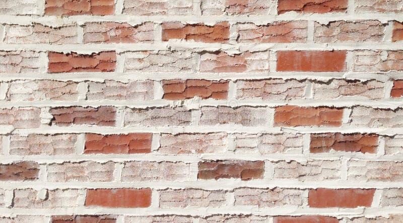 Bakgrund av tegelstenväggtextur arkivfoto