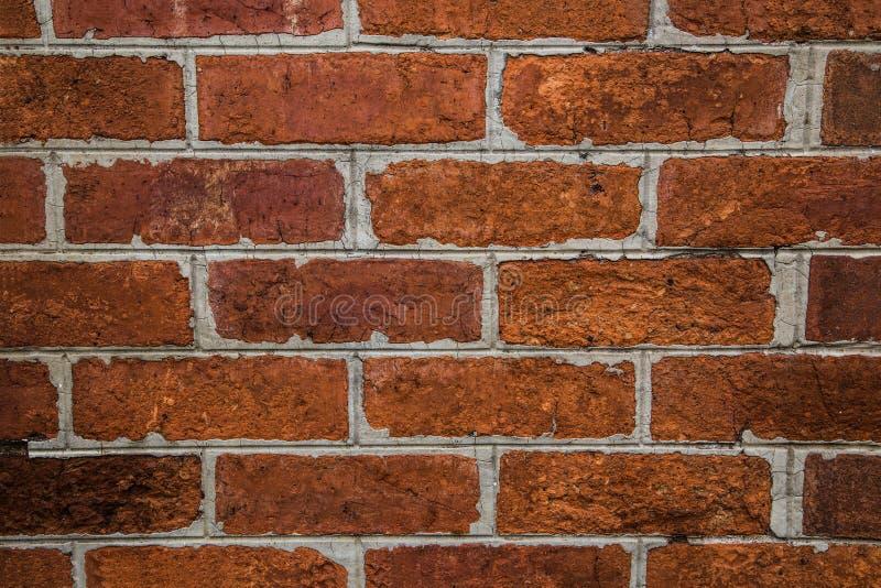Bakgrund av textur för tegelstenvägg arkivfoton