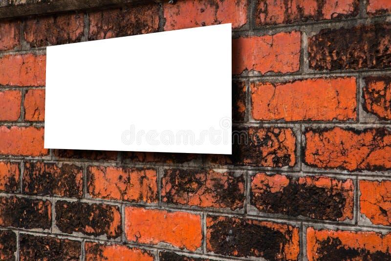 Bakgrund av textur för tegelstenvägg med utrymme för text royaltyfri foto