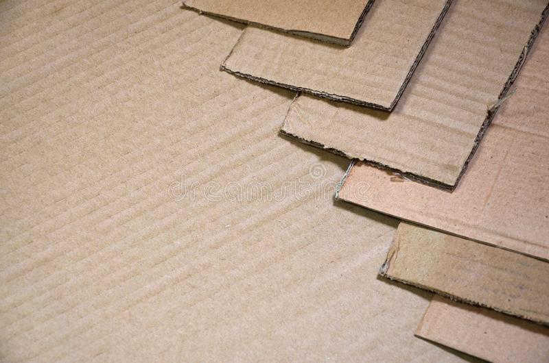 Bakgrund av travt klart för papper texturer att återanvända En packe av gammal kontorspapp för återanvändning av förlorat papper  royaltyfri fotografi