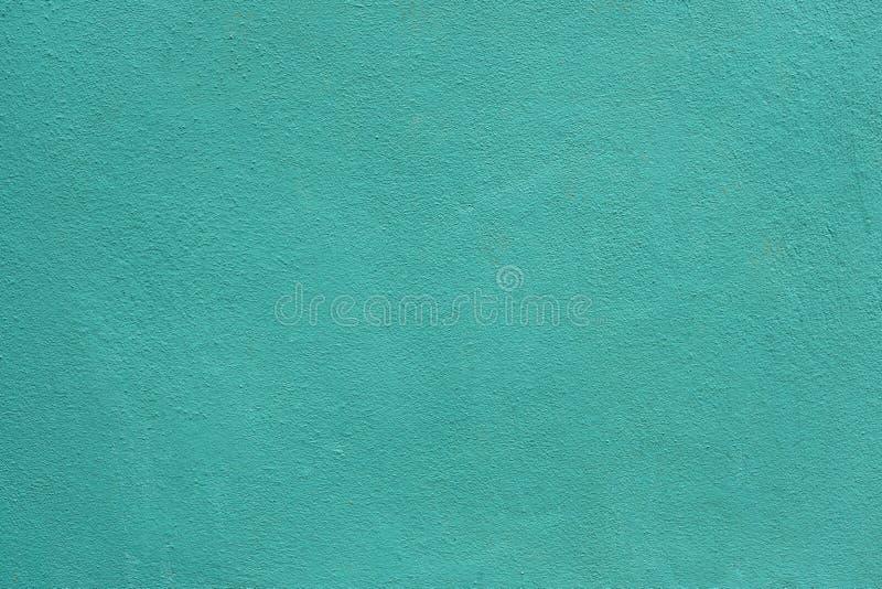 Bakgrund av väggar för grönt hav Blå väggbakgrund extra aquamarinebakgrundsformat arkivfoto
