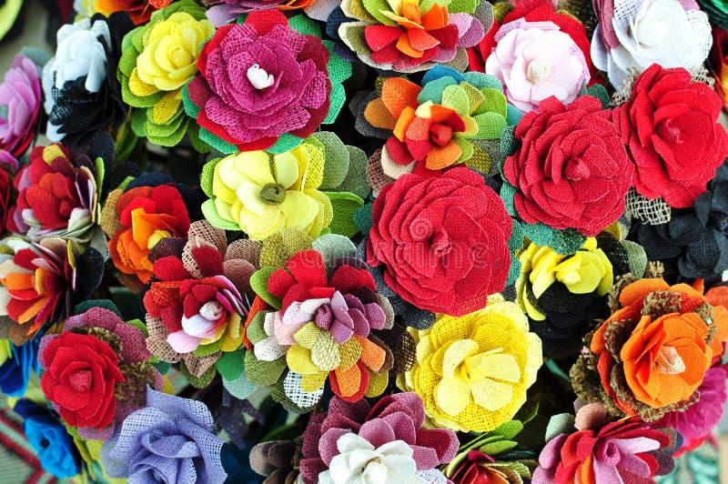 bakgrund blommar handgjort royaltyfria foton