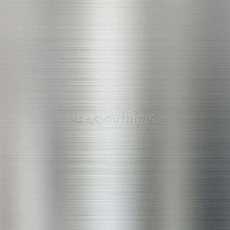 bakgrund borstad metallståltextur arkivfoto