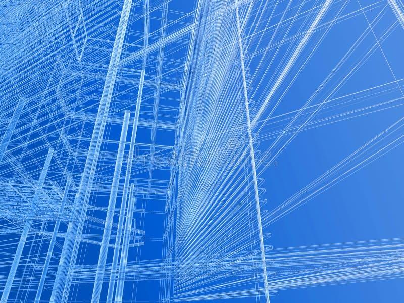 bakgrund CAD stock illustrationer