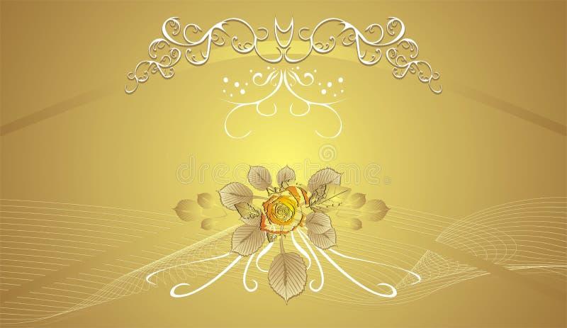 bakgrund cards dekorativ blom- ferie s stock illustrationer
