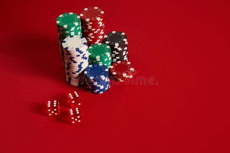 bakgrund chips pokerred Grupp av olika pokerchiper Detta är sparar av EPS10 formaterar arkivbilder