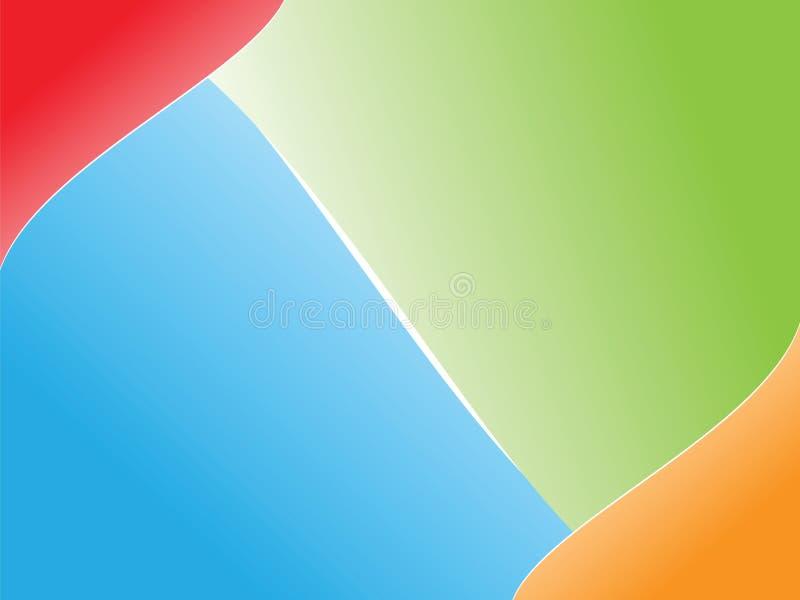 bakgrund colors fyra royaltyfri illustrationer