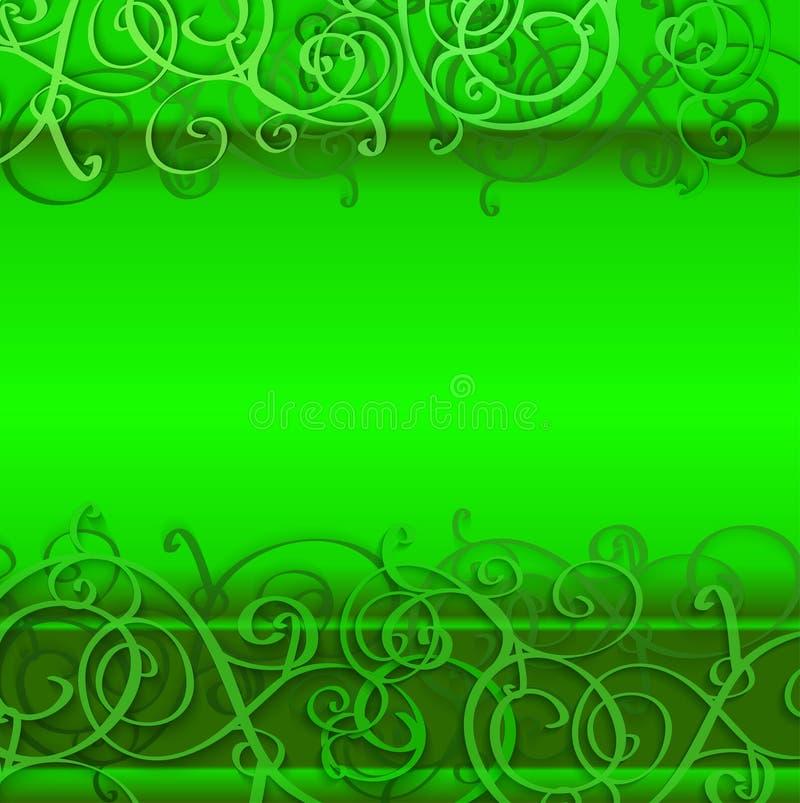 bakgrund colors grön patrick s för dagen st vektor illustrationer