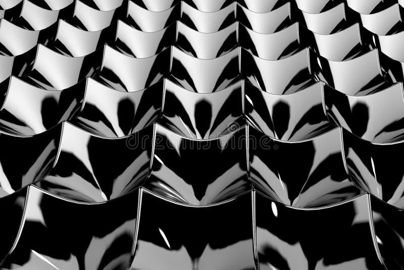 bakgrund 3D från texturkuber royaltyfri illustrationer