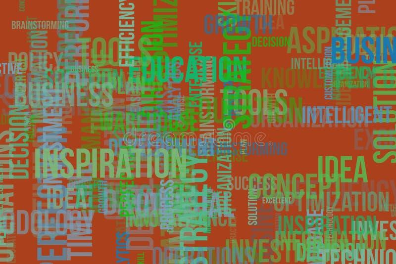 Bakgrund eller bakgrund, formmodell, goda för designtextur Information, utveckling, organisation & mål royaltyfri illustrationer