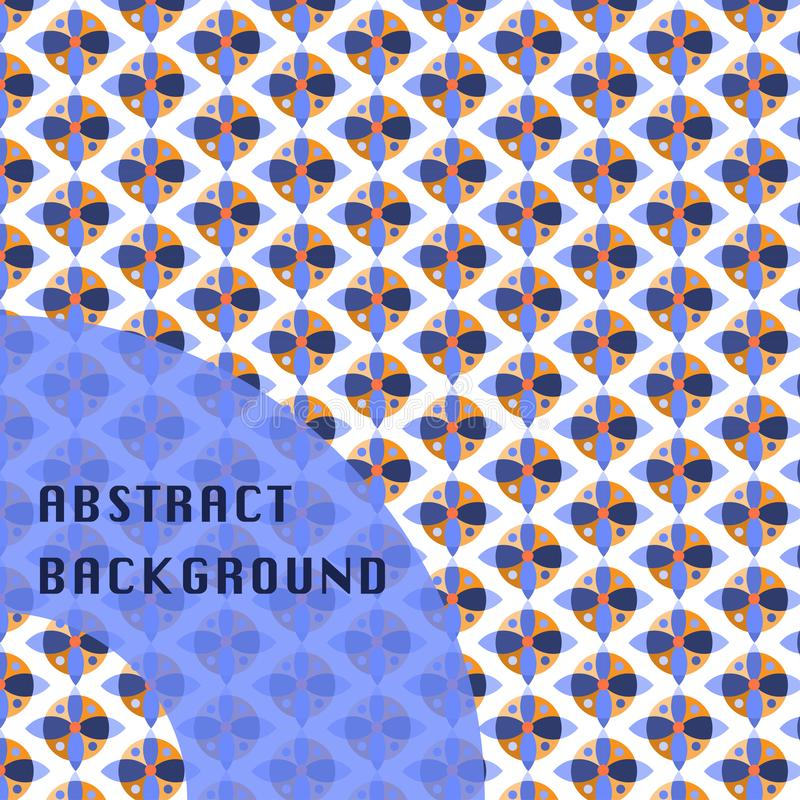 Bakgrund för abstrakt begrepp för design för cirkel` s royaltyfri bild