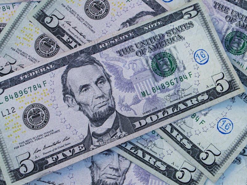Bakgrund för amerikansk valuta Amerikanska dollar Bakgrund för amerikanska dollar arkivbild