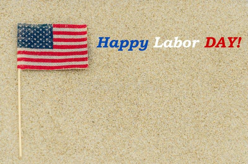 Bakgrund för arbets- dag på stranden arkivfoton