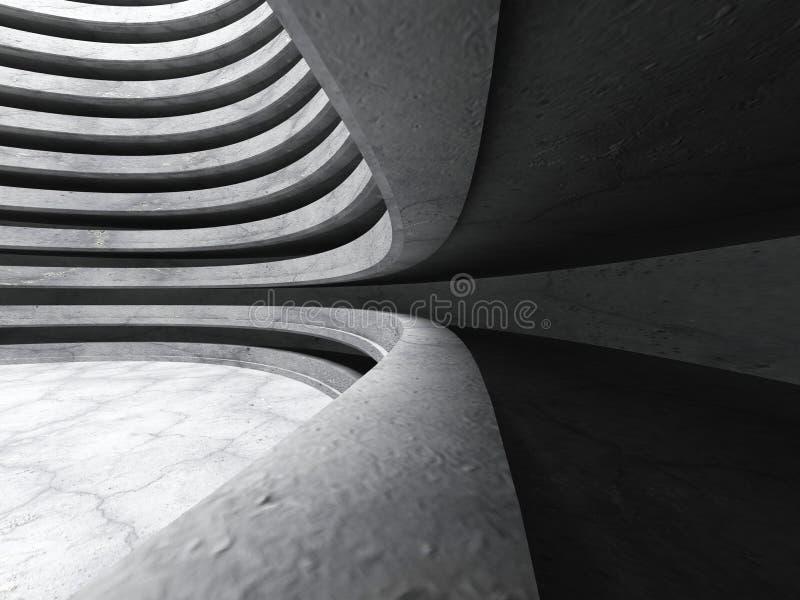 Download Bakgrund För Arkitektur För Mörkerbetongabstrakt Begrepp Stads- Stock Illustrationer - Illustration av inget, glansigt: 78729402