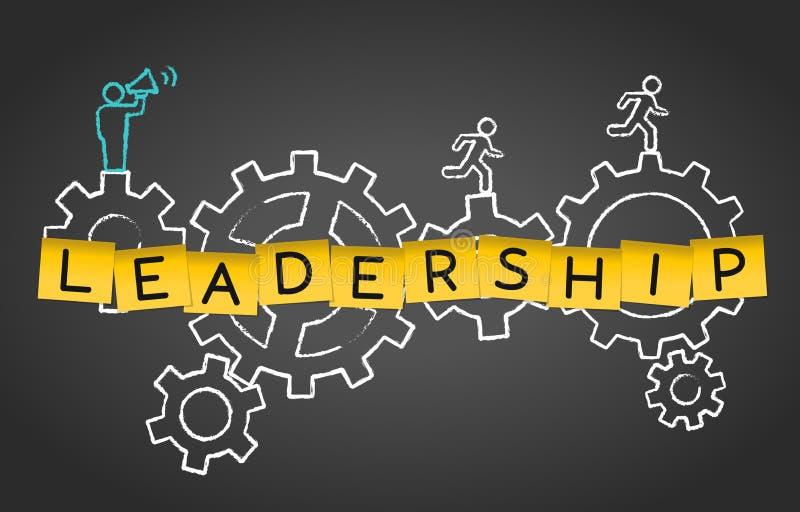 Bakgrund för begrepp för expertis för motivation för teamwork för ledarskapaffärsledning royaltyfri illustrationer